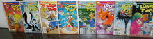 Modern Looney Tunes comic book collection of 8 different all near mint