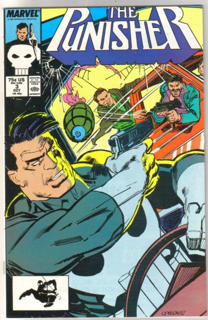 Punisher (1987 series) #3 comic book mint 9.8