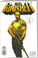 Punisher (2000 series) #1 Bradstreet white variant cover comic book mint 9.8