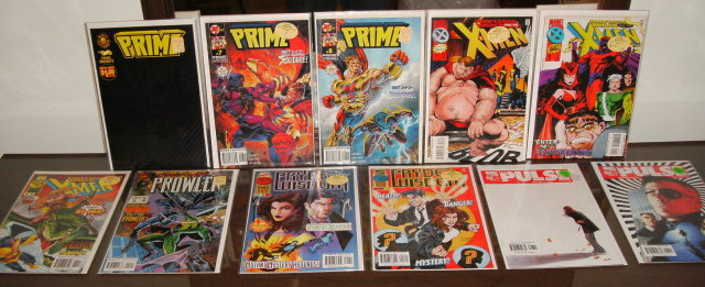 11 issue Marvel comic book collection