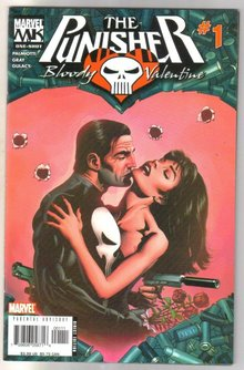 The Punisher Bloody Valentine #1 comic book near mint 9.4