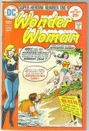 Wonder Woman #216 comic book very good/fine 5.0