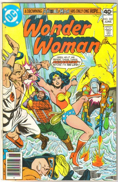 Wonder Woman #268 comic book very fine 8.0