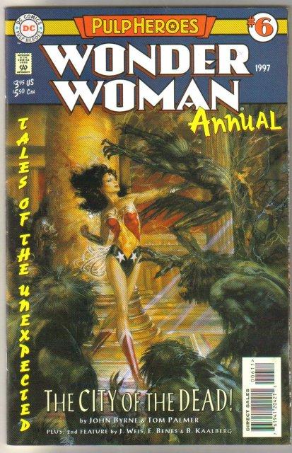 Wonder Woman annual #6 comic book mint 9.8