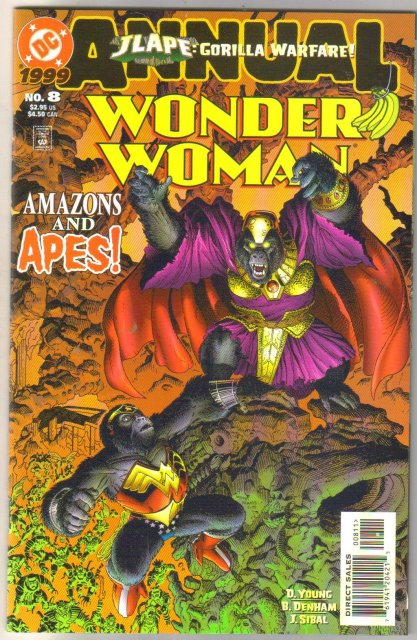 Wonder Woman annual #8 comic book mint 9.8