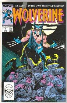 Wolverine #1 regular series comic book near mint 9.4