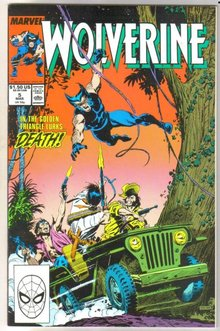Wolverine #5 regular series comic book near mint 9.4