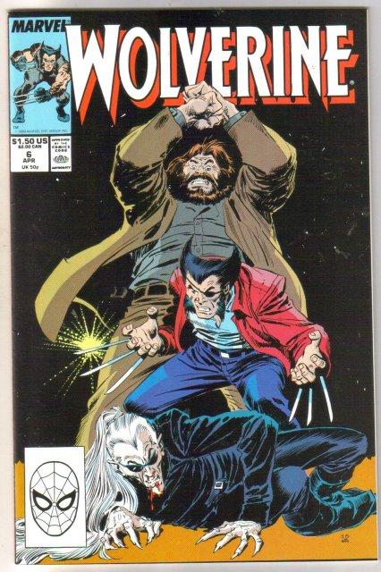 Wolverine #6 regular series comic book mint 9.8