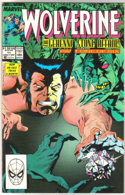 Wolverine #11 comic book near mint 9.4