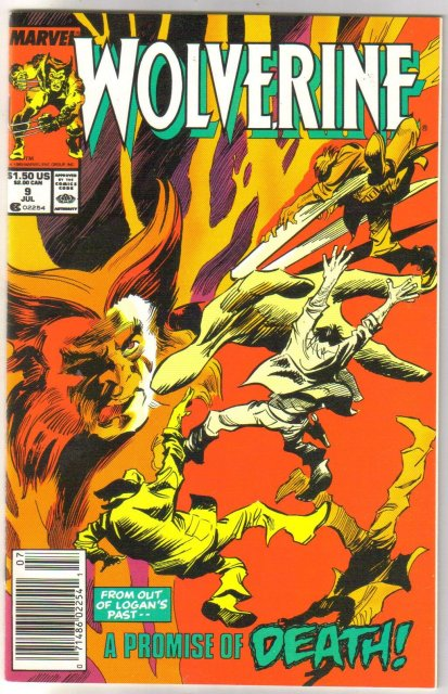 Wolverine #9 comic book mint 9.8