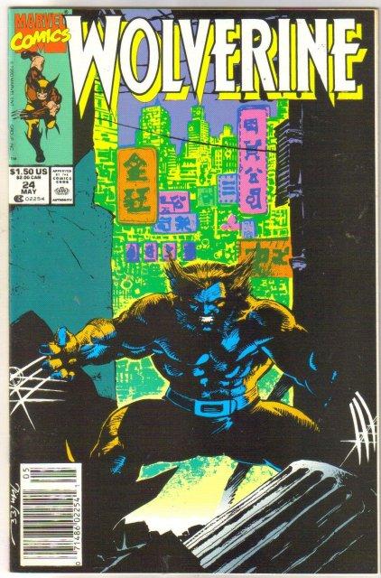 Wolverine #24 comic book near mint 9.4