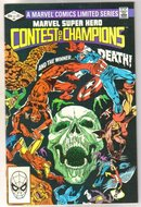 Marvel Super Hero Contest of Champions #3 comic book near mint 9.4