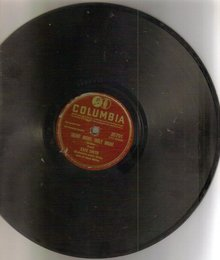 Kate Smith 78 rpm Christmas record Silent Night and Adeste Fideles (Oh, Come all Ye Faithful)