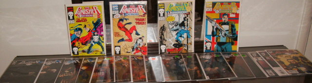 Punisher collection of 20 comic books