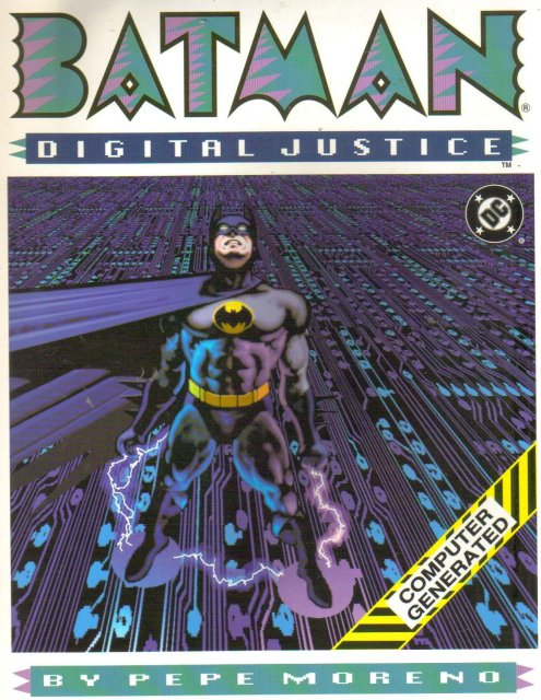 Batman Digital Justice hardcover new