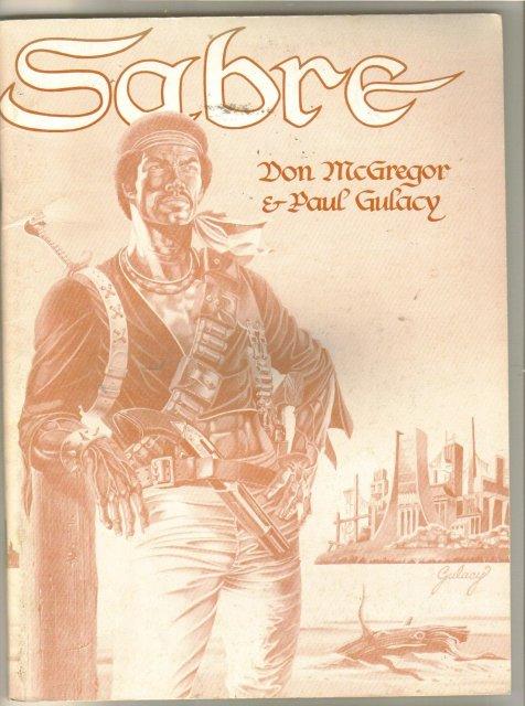 Sabre Graphic Novel second print