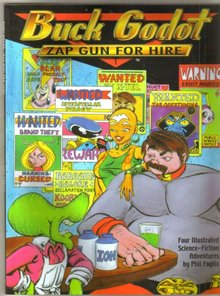 Buck Godot Zap Gun For Hire graphic novel like new