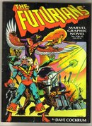Futurians graphic novel like new