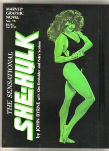 Sensational She-Hulk graphic novel like new