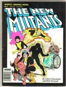 The New Mutants graphic novel like new