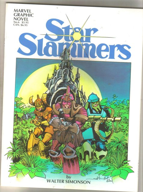 Star Slammers graphic novel like new