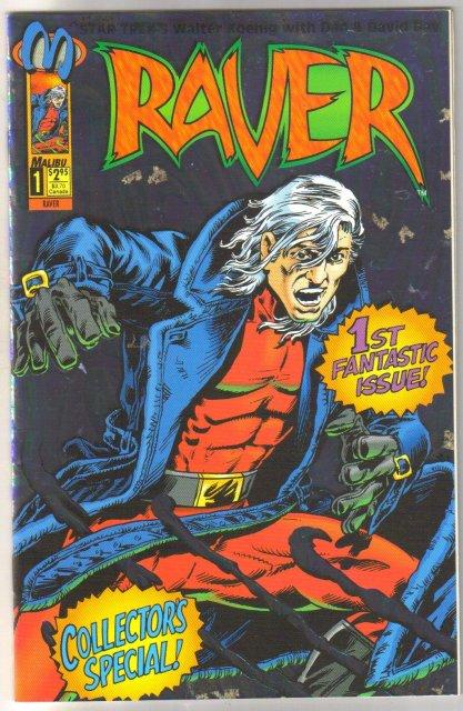 Raver #1 comic book mint 9.8
