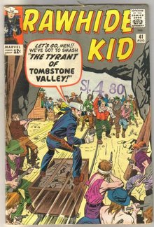 Rawhide Kid #41 comic book good 2.0