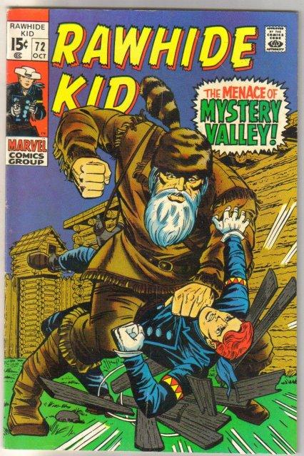 Rawhide Kid #72 comic book very good/fine 5.0