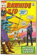 Rawhide Kid #91 comic book very good/fine 5.0