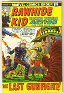 Rawhide Kid #115 comic book very fine 8.0