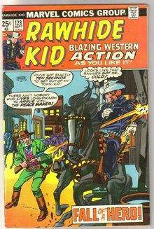 Rawhide Kid #128 comic book very fine 8.0