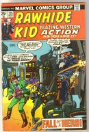 Rawhide Kid #128 comic book very fine 8.0