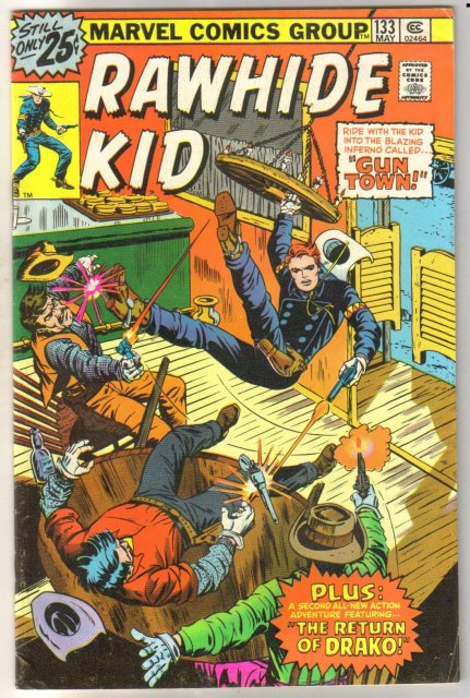 Rawhide Kid #133 comic book fine 6.0