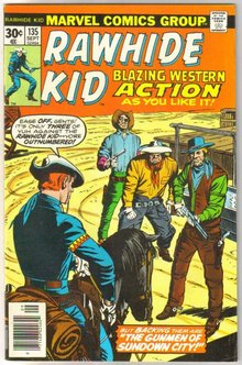 Rawhide Kid #135 comic book fine/very fine 7.0