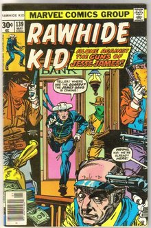 Rawhide Kid #139 comic book fine/very fine 7.0
