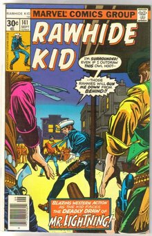 Rawhide Kid #141 comic book very fine 8.0
