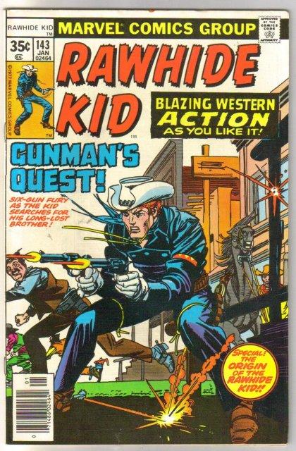Rawhide Kid #143 comic book very fine/near mint 9.0