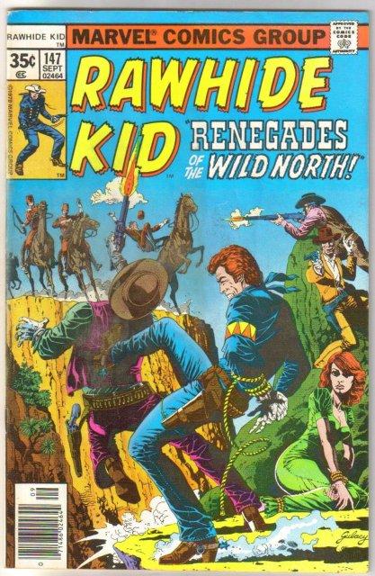 Rawhide Kid #147 comic book very good/fine 5.0