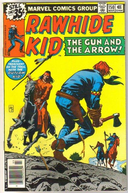 Rawhide Kid #150 comic book near mint 9.4