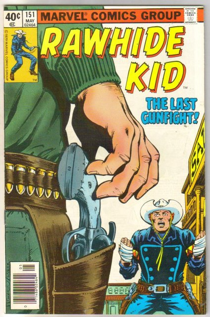 Rawhide Kid #151 comic book very fine 8.0