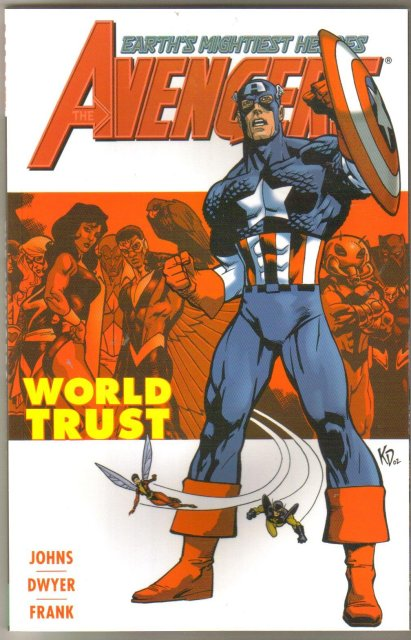 Avengers World Trust graphic novel brand new