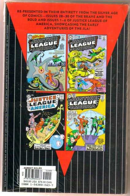 Justice League of America Archives Volume 1 brand new mint