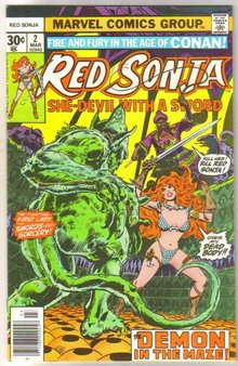 Red Sonja #2 comic book near mint 9.4