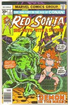 Red Sonja #2 comic book near mint 9.4
