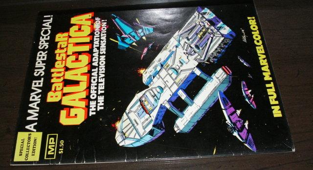 Marvel Super Special #8 Battlestar Galactica