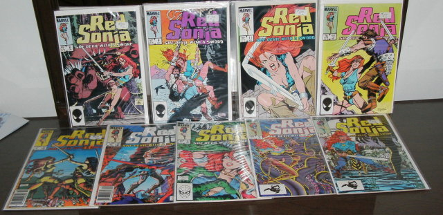 Red Sonja volume 3 collection of 9 comic books mostly near mint 9.4