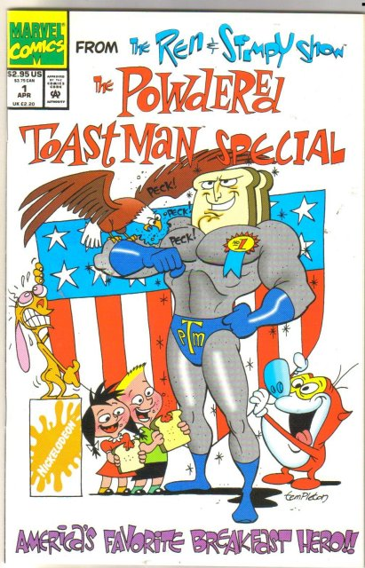 Ren & Stimpy Show Powdered Toast Man Special comic book mint 9.8