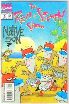 Ren & Stimpy Show #9 comic book mint 9.8