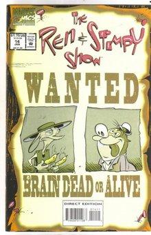 Ren & Stimpy Show #14 comic book mint 9.8