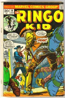 Ringo Kid #18  comic book very good/fine 5.0
